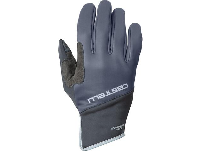 Castelli Scalda Pro Guantes, dark steel blue